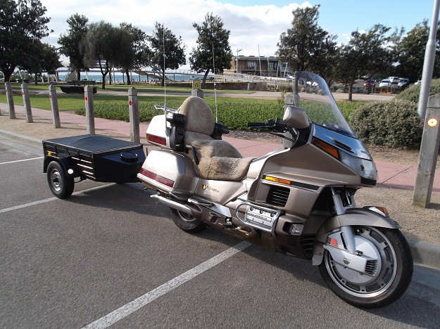 My Goldwing and Trailer